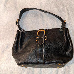 Dooney & Bourke Pebbled Shoulder Bag in Black
